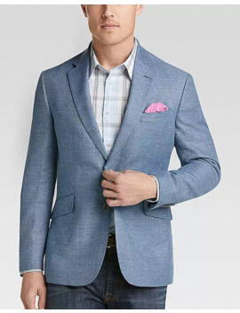 Joe Joseph Abboud Sky Blue Slim Fit Sport Coat by Joe Joseph Abboud