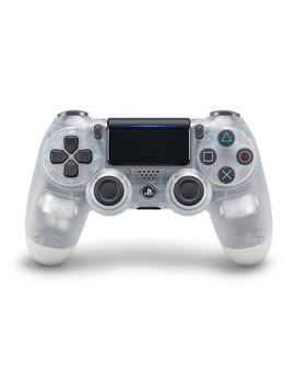 Dual Shock 4 Wireless Controller For Play Station 4   Crystal by Sony