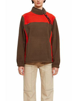 Drift Diagonal Zip Pullover by Stussy
