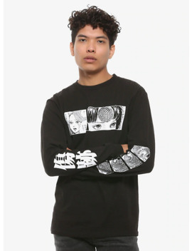 Junji Ito Uzumaki Long Sleeve T Shirt by Hot Topic