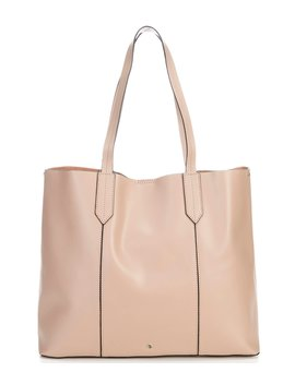 Bryce Leather Snap Tote by Antonio Melani