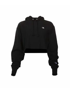 Reverse Weave® Cropped Cut Off Pullover Hoodie by Champion Life