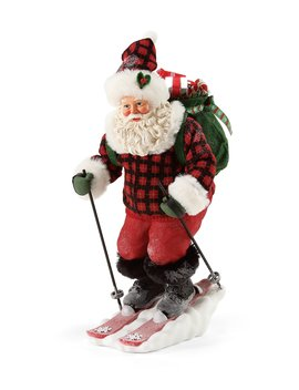 Alpine Delivery Santa Figurine by Possible Dreams