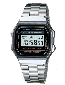Gents Digital Silver/Black by Casio