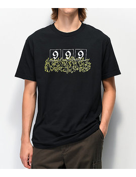 999 Club By Juice Wrld 999 Black T Shirt by Juice Wrld