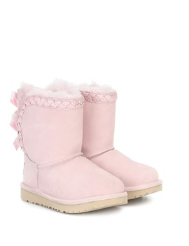 Classic Short Ii Braided Boots by Ugg Kids