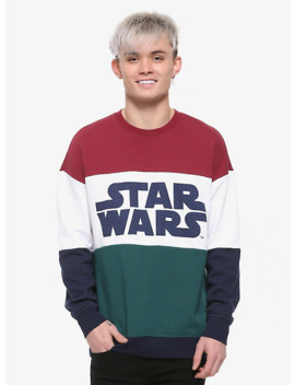 Our Universe Star Wars Color Block Sweatshirt by Her Universe