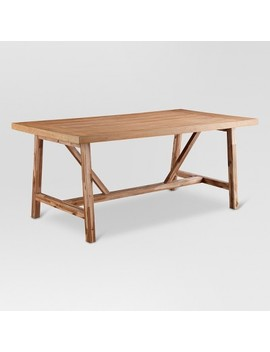 Wheaton Farmhouse Trestle Dining Table   Threshold™ by Shop Collections