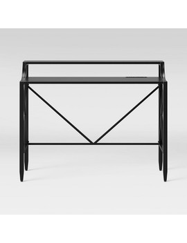 Fairmont Metal Desk Black   Threshold™ by Shop This Collection