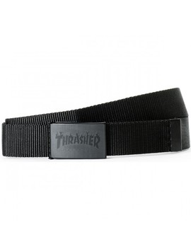 Thrasher Flame With Buckle Bottle Opener Belt by Ccs