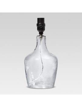 Artisan Glass Jug Small Lamp Base Clear   Threshold™ by Threshold