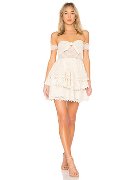 X Revolve Gaines Dress In Natural by House Of Harlow 1960