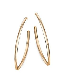 Bumble Blake 14 K Yellow Gold Drop Earrings by Lana Jewelry