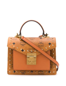 Patricia Small Studded Satchel by Mcm