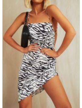 The Vivien Dress   Zebra by Peppermayo
