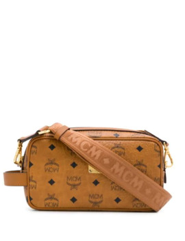 Logo Print Crossbody Bag by Mcm