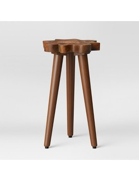 Buckland Live Edge Accent Table Brown   Threshold™ by Threshold