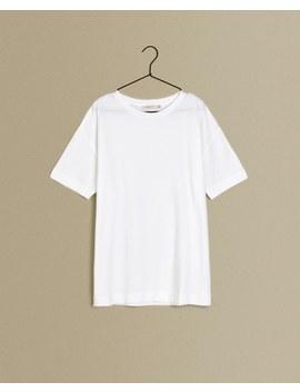 Camiseta Melange Calidad Premium by Zara Home