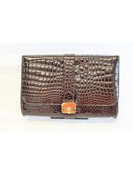 Vintage Ruth Saltz Purse. Evening Beautiful Clutch. Brown Clutch by Etsy