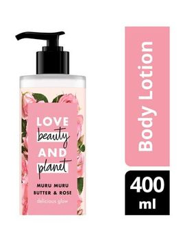 Love Beauty And Planet Delicious Glow Body Lotion 400ml by Love Beauty Planet