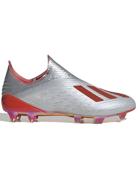 Adidas X 19+ Firm Ground Cleat Silver Metallic Hi Res Red by Stock X