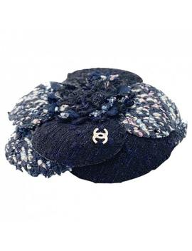 Camélia Cloth Pin & Brooche by Chanel