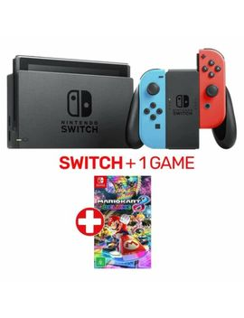 Nintendo Switch Neon Console + 1 Game   Nintendo Switch   Brand New by Nintendo Switch