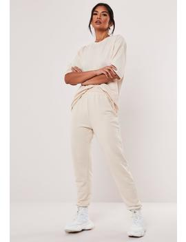 Tall Stone Jersey T Shirt And Joggers Co Ord Set by Missguided
