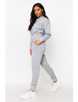 Basic Knitted Hooded Lounge Set Basic Knitted Hooded Lounge Set by Misspap