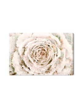 Brown Winter Flower Canvas Wall Art by Oliver Gal
