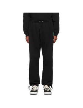 Black Unisex Logo Lounge Pants by Opening Ceremony