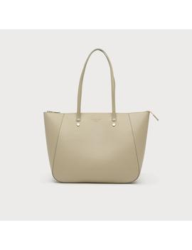 Marcia Putty Leather Tote Bag by L.K.Bennett