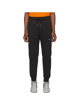 Ssense Exclusive Black Logo Lounge Pants by Ksubi