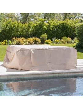 Shield Outdoor Waterproof Fabric Chat Set Patio Cover By Christopher Knight Home by Christopher Knight Home