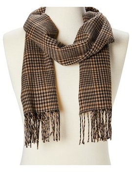 Camel Fringe Hem Scarf   Adult by Softer Than Cashmere®