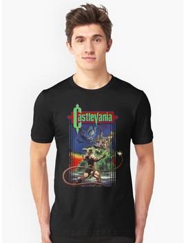 Castlevania Slim Fit T Shirt by Idaspark