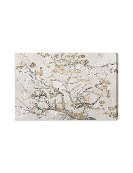 Gold Blossoms Canvas Wall Art by Oliver Gal