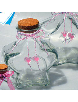 Mini Star Shape Glass Favor Storage Jars Bottle Containers With Cork by Ebay Seller