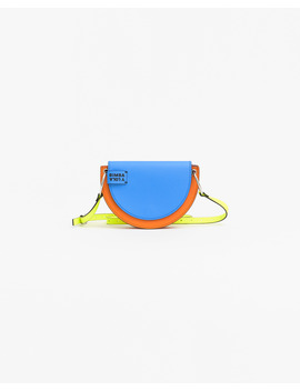 S Multicolor Leather Crossbody Bag by Bimba Y Lola
