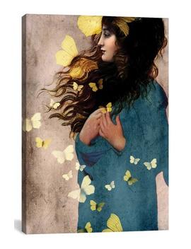 Bye Bye Butterfly By Catrin Welz Stein Giclée Print Canvas Art by Icanvas