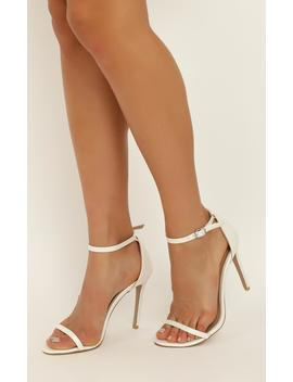 Billini   Timeless Heels In White Pearl by Showpo Fashion