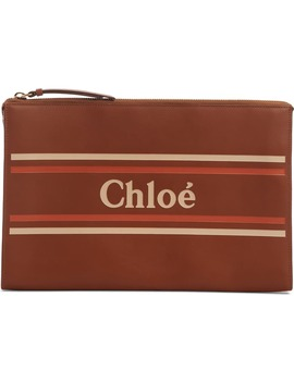 Vick Leather Zip Pouch by ChloÉ
