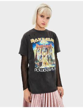 Camiseta Iron Maiden by Bershka