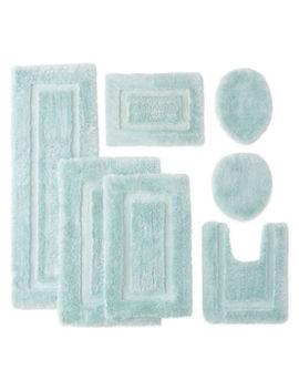 Chiffon Super Soft Bath Rug Collection by Asstd National Brand