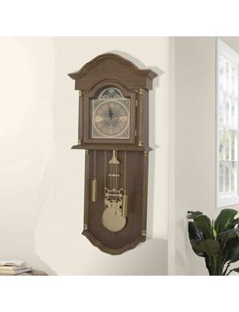 Branner Hanging 47.25cm Grandfather Clock by Astoria Grand