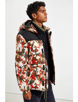 Timberland Outdoor Archive Camo Puffer Jacket by Timberland