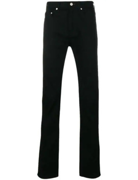 Flared Mid Rise Jeans by Ps Paul Smith