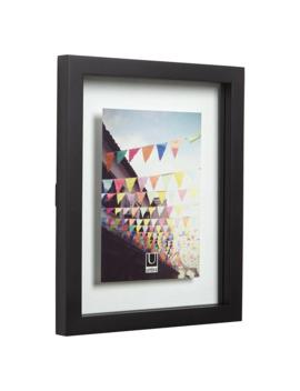 "Umbra Floating Photo Frame, 5 X 7"" (13 X 18cm), Black by Umbra"
