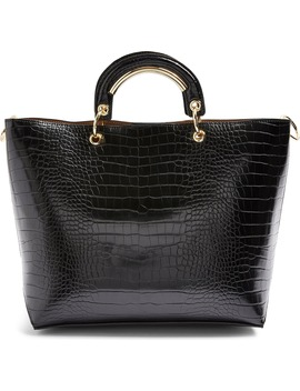 Tao Faux Leather Tote by Topshop