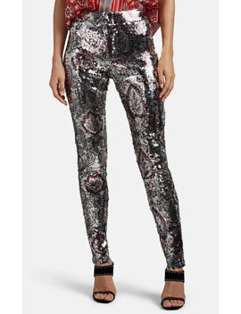 Odizo Graphic Sequined Skinny Pants by Isabel Marant